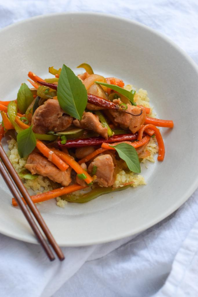 Thai Lemongrass Chicken Stir Fry The Migoni Kitchen