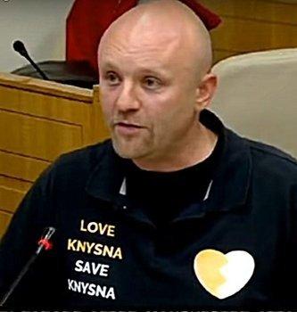Mike Hampton vs DA criminals - Parliament Love Knysna Petition