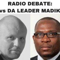 Cape Talk Radio debate- Mike Hampton Bonginkosi Madikizela DA corruption