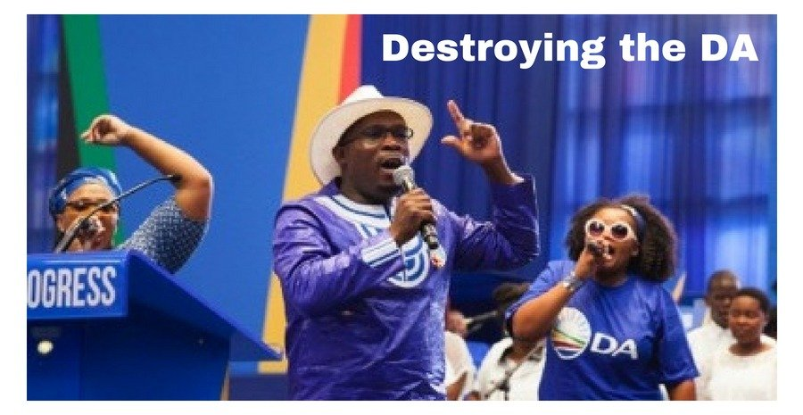 Bonginkosi Madikizela is destroying the DA Democratic Alliance - photo credit DA