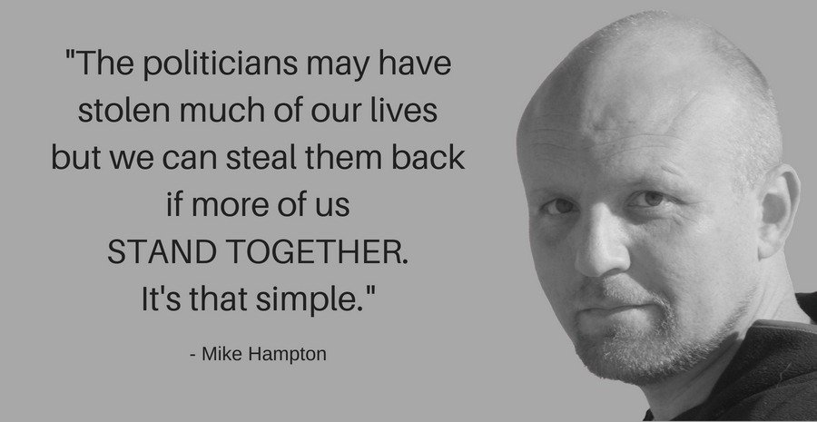 We must STAND TOGETHER - Mike Hampton