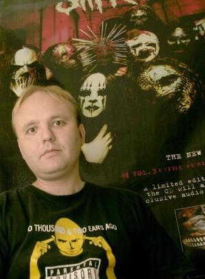 Wicked Mike - massive Slipknot poster