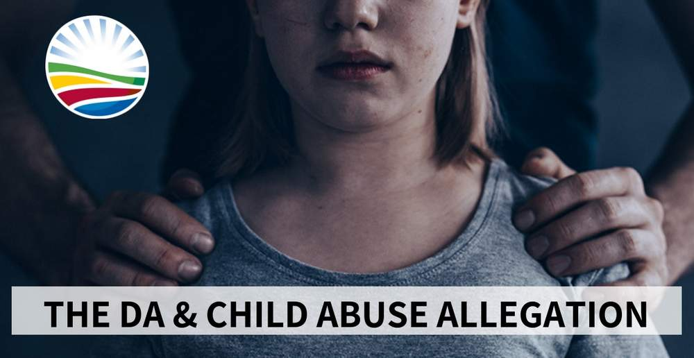Democratic Alliance child rape abuse allegation Knysna councillor