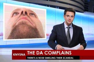 Democratic Alliance Complains - Mike Hampton smells their corruption