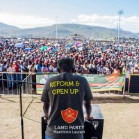 Land Party South Africa-reform