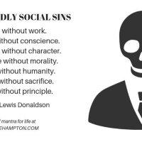 Seven deadly social sins - Frederick Lewis Donaldson