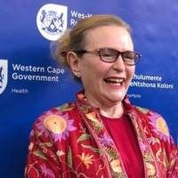 Helen Zille laughing