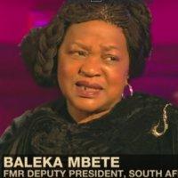 Baleka Mbete interviewed by Aljazeera