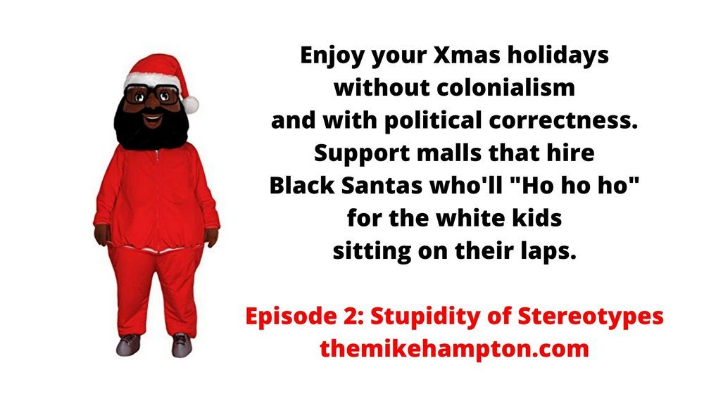 Black Santa Christmas South Africa