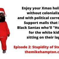 Black Santa Christmas South Africa