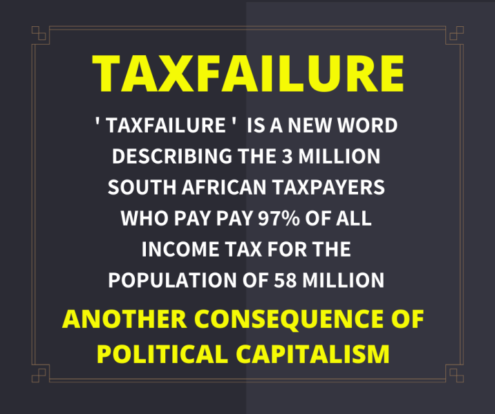 Taxfailure - South Africa income tax statistic