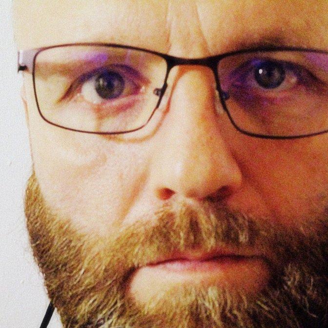 Anti-corruption activist Mike Hampton close-up