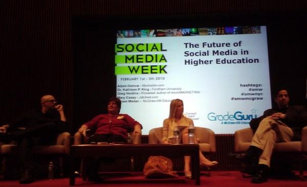 Social Media And Education Panel Week