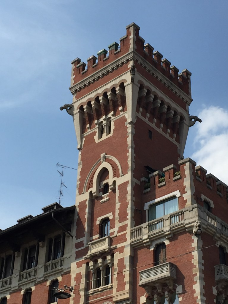 The tower of Palazzo Cova