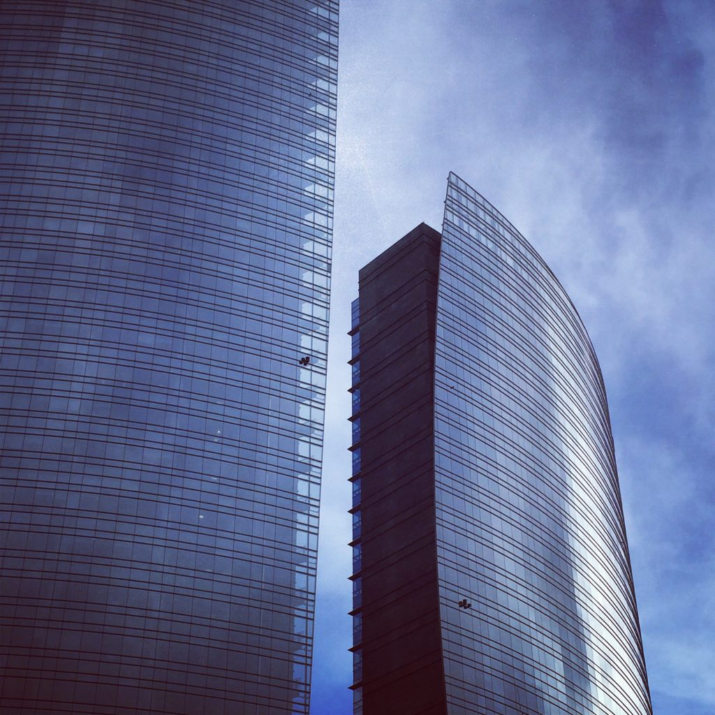 The Unicredit buildings