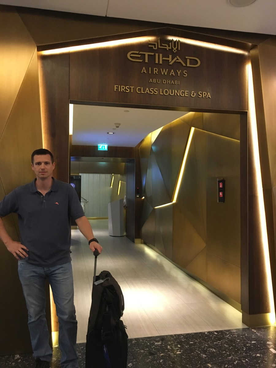 Review Etihad First Class Lounge And Spa Abu Dhabi The