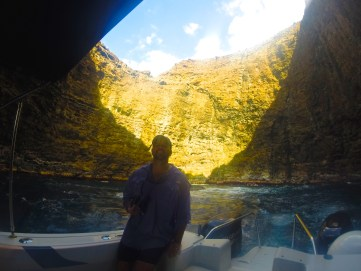 Ryan mauck, Na Pali coast cave tour by boat Napali Experience