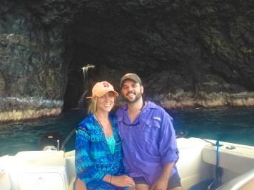 Ryan mauck, Napali Experience Na Pali coast cave boat tour kauai waiahuakua sea cave