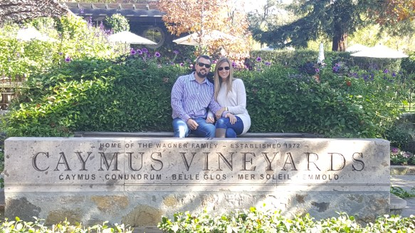 caymus vineyards, napa valley on miles and points