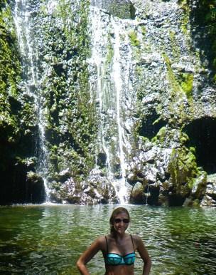road to hana maui waterfall