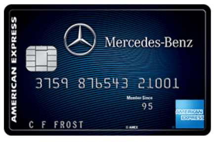 Mercedes Benz Credit Card from American Express