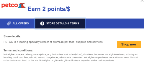 Southwest rapid rewards shoppinng portal