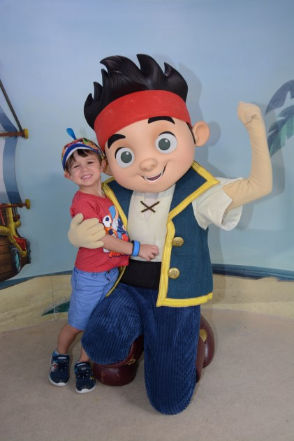 Jake and the Neverland Pirates Disney World