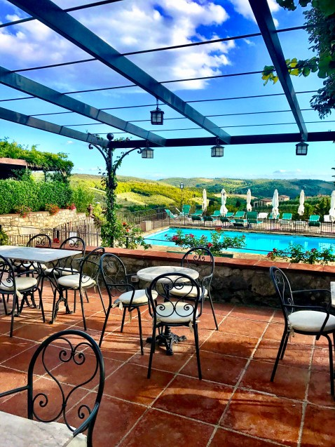 Hotels in Tuscany on Chase Ultimate Rewards points