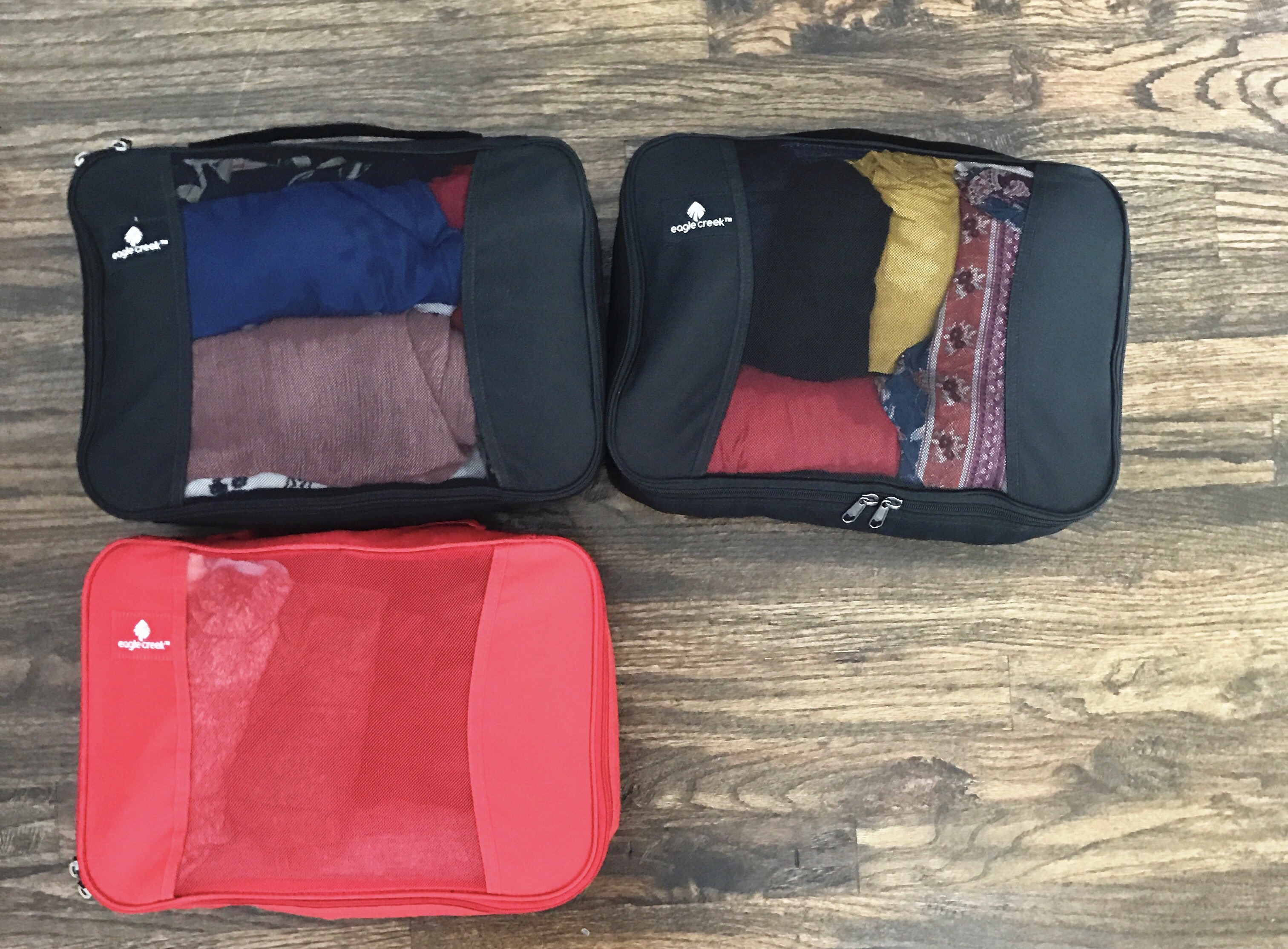 how to pack for Europe in a carry on