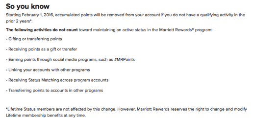 when do marriott points expire, how to transfer marriott points