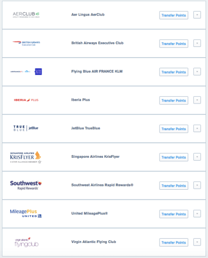 Chase Ultimate Rewards transfer partners 2019, Southwest Rapid Rewards credit cards, Chase sapphire preferred credit card