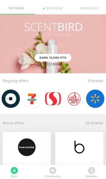 Earn money with the drop app