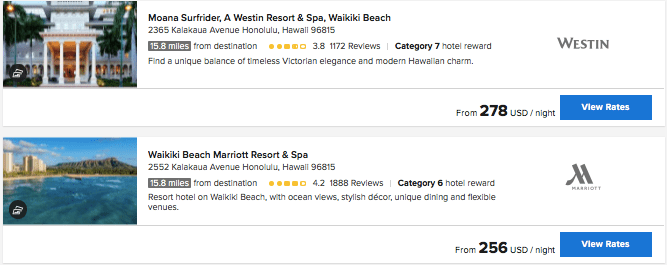Oahu Marriott hotels