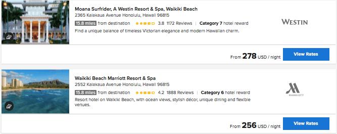 Oahu Marriott hotels