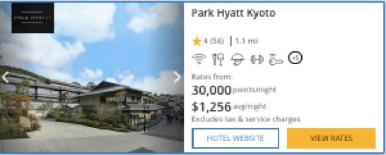 ultimate Rewards world of hyatt