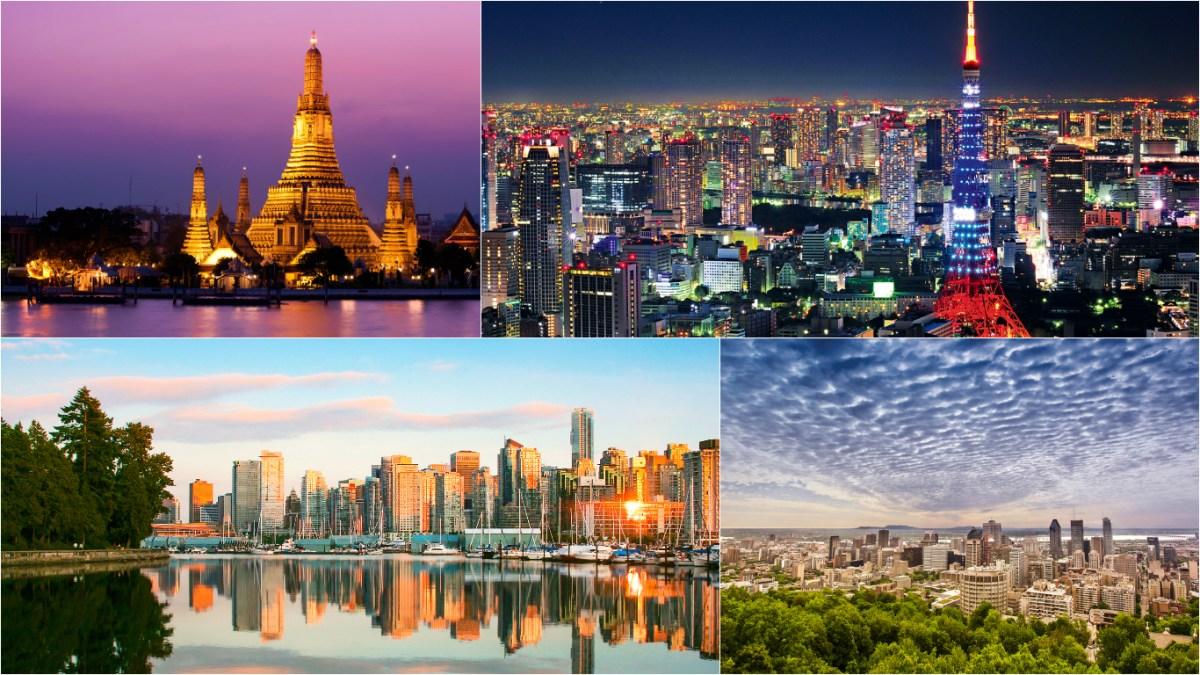 $564 DC to Tokyo, Bangkok and Vancouver/Montreal