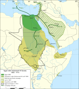 The Sudan was forced together by Egyptian efforts to unite the Nile valley.