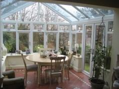 PVCu conservatory interior