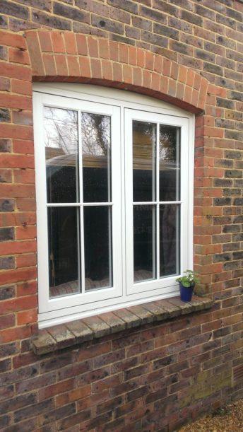 Residence 9 double-glazed window