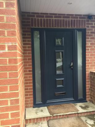 Solidor Composite Doors anthracite grey