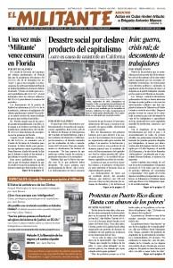 thumbnail of El Militante Vol. 82/No.4