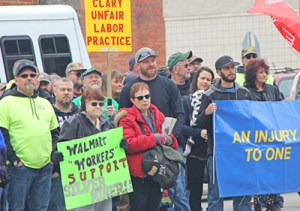 March 17 protest in Mullan, Idaho, shows silver miners' determination to continue their strike.
