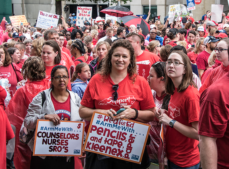 20,000-strong protest May 16 in Raleigh, North Carolina, drew broad working-class solidarity.