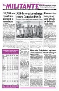 thumbnail of El Militante Vol. 82/No.23