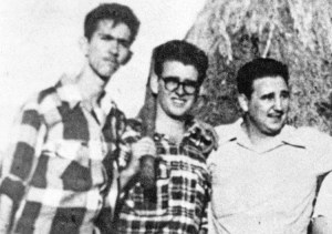 From left, Ñico López, Abel Santamaría and Fidel Castro in Havana, 1953. July 26 assault on government's Moncada barracks was defeated, but revolutionary leadership emerged.