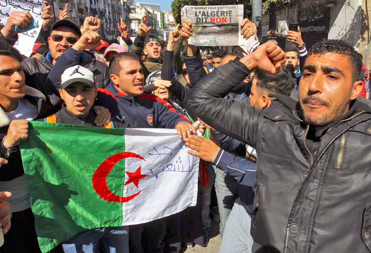 Algeria rallies: 'Get rid of president, the entire regime'
