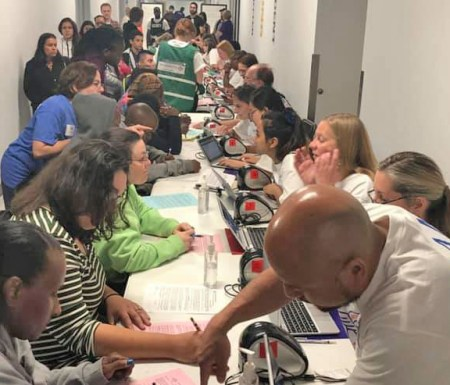 Remote Area Medical team visits Baltimore, Sept. 7, 2019, to provide health care for a fraction of the millions who are unable to afford health insurance.