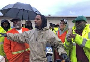 Des éboueurs de Pittsburgh manifestent pour obtenir des équipements de sécurité et une augmentation salariale. «Personne ne respectait les éboueurs avant que nous ne cessions de ramasser les ordures.»