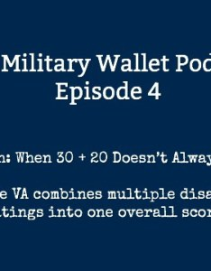 Va math combined disability ratings also how are calculated rh themilitarywallet