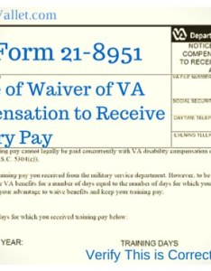 Va form waive compensation to receive military pay also for rh themilitarywallet